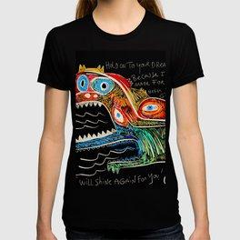 Hold on to your dreams Street Art Graffiti T-shirt