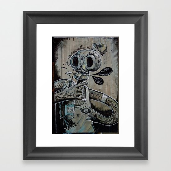 M.S 13 Framed Art Print