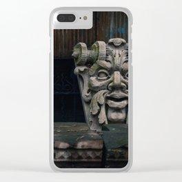 Chillin' Like a Villian Clear iPhone Case
