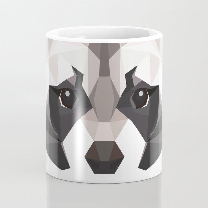 R is for Raccoon Coffee Mug