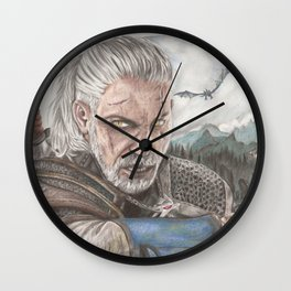 The Butcher of Blaviken Wall Clock