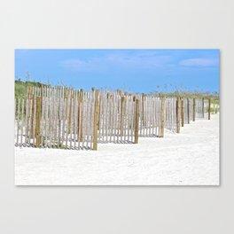 Sandy Beaches Canvas Print