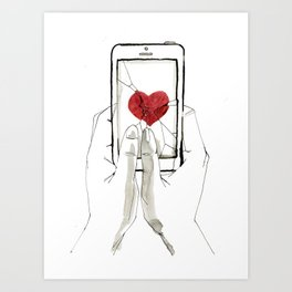 Breakable Art Print