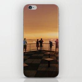 Elliott Bay Rays iPhone Skin