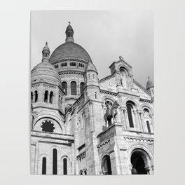 Sacre Coeur Montmartre Paris Poster