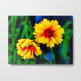 The Coreosis Flower Metal Print