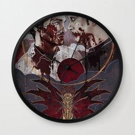 Killing of the Dragon Wall Clock