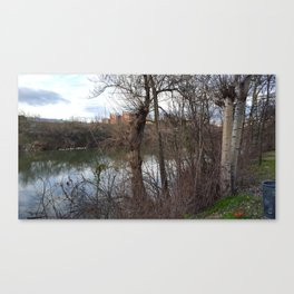Pisuerga River, Valladolid Canvas Print