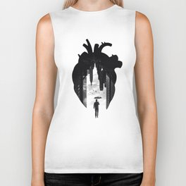 In the Heart of the City Biker Tank