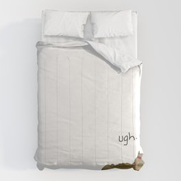 Crunch Cat by Caleb Croy Comforters
