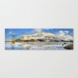 Ullswater Winter Canvas Print