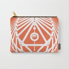 Radiant Abundance (orange-white) Carry-All Pouch