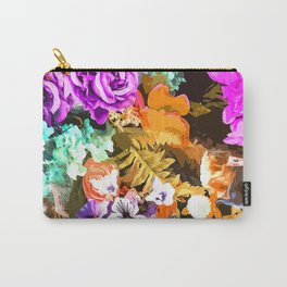 Beautiful detail / Watercolor flowers Carry-All Pouch