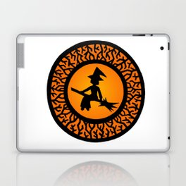 The Witch's Shadow Laptop & iPad Skin