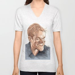 Matt Damon Unisex V-Neck