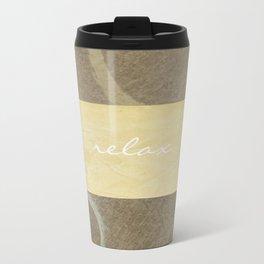 Relax Modern Art w/ Signature Travel Mug