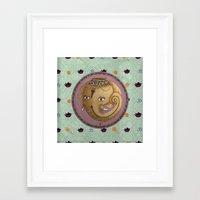 ganesh Framed Art Prints featuring Ganesh by S*TRU