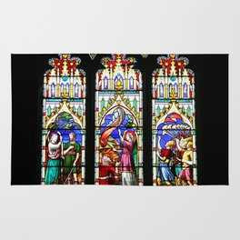 Cathedral Stained Glass 3 Rug