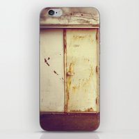doors iPhone & iPod Skins featuring doors by sandra lee russell