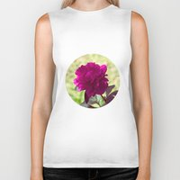dc Biker Tanks featuring DC Flowers by Danielle