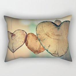 Hearts   Coeurs Rectangular Pillow