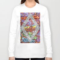 graffiti Long Sleeve T-shirts featuring Graffiti by Az One Graffiti