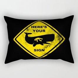 The Sign of Jonah Rectangular Pillow