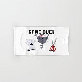 Karate-Paper-Scissors Hand & Bath Towel