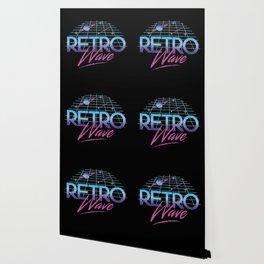 Retro Wave Under The Stars Wallpaper