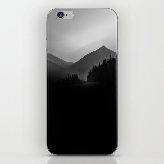 Dusky Mountains iPhone Skin