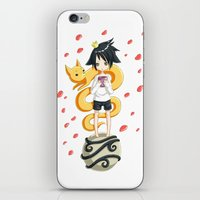 little prince iPhone & iPod Skins featuring Little Prince by Freeminds