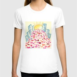 Pink Hats March for Equality T-shirt