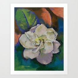Gardenia Art Print
