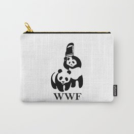 WWF parody T-Shirt Carry-All Pouch