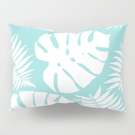 Fern & Monstera Pillow Sham