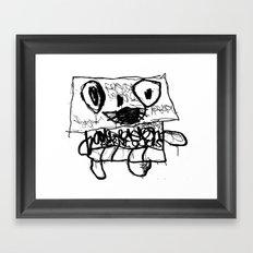 AERNI-BOT 0 Framed Art Print