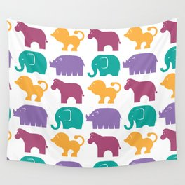 Fun at the Zoo: Pattern Wall Tapestry