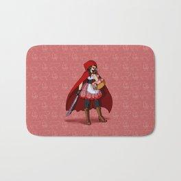 Serial Killer Red Riding Hood Bath Mat