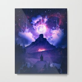 THE UNIVERSAL JOURNEY Metal Print
