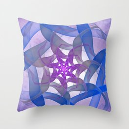 flames on texture -12- Throw Pillow