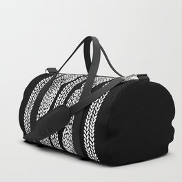 Cable Black Duffle Bag