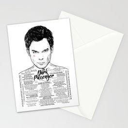 The Dark Passenger Ink'd Series Stationery Cards