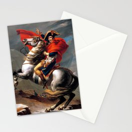 Jacques Louis David Napoleon Crossing the Alps Stationery Cards
