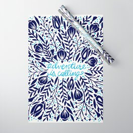 Adventure is Calling – Porcelain Palette Wrapping Paper