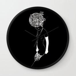 Haute Noir Wall Clock