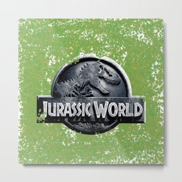 Jurassic World Metal Print