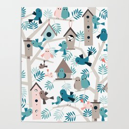 Bird family tree Poster