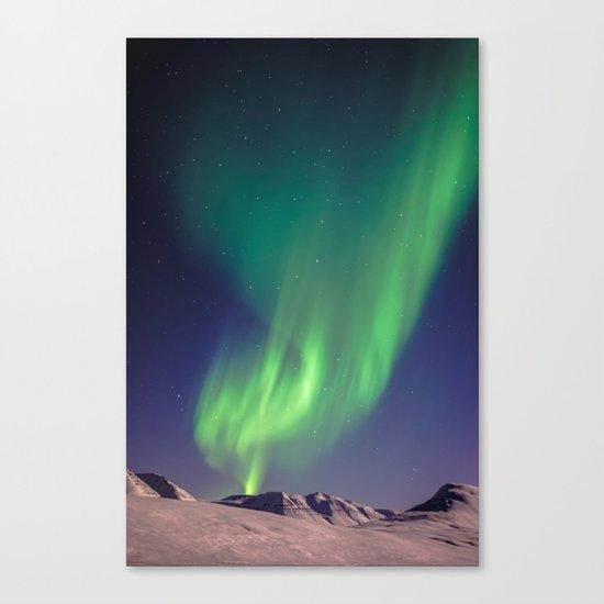 The Northern Lights (Aurora Borealis) Canvas Print