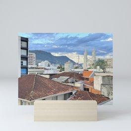 rio do sul Mini Art Print