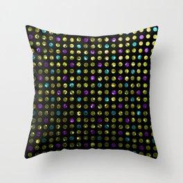 Polkadots Jewels G189 Throw Pillow